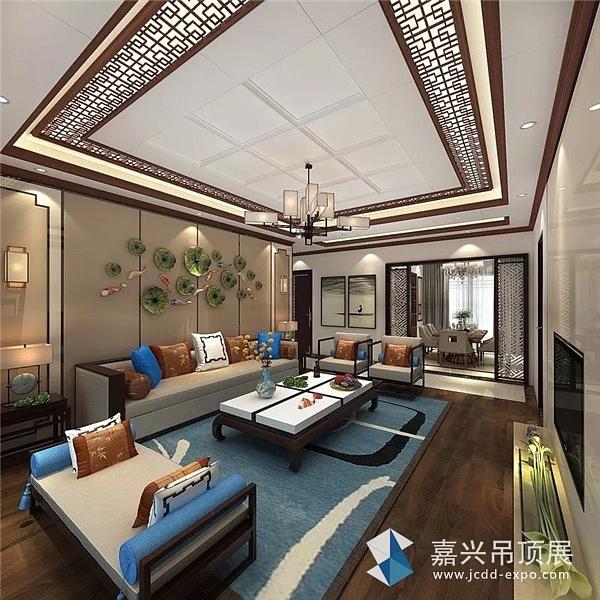 德莱宝欧式风格吊顶,高端的锰镁铝合金用材,华丽的色调,大尺寸的大气
