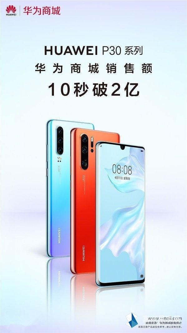 华为P30系列手机