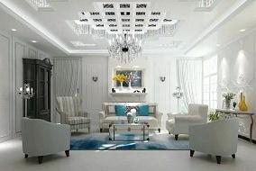 品格高端定制,客厅华丽焕妆