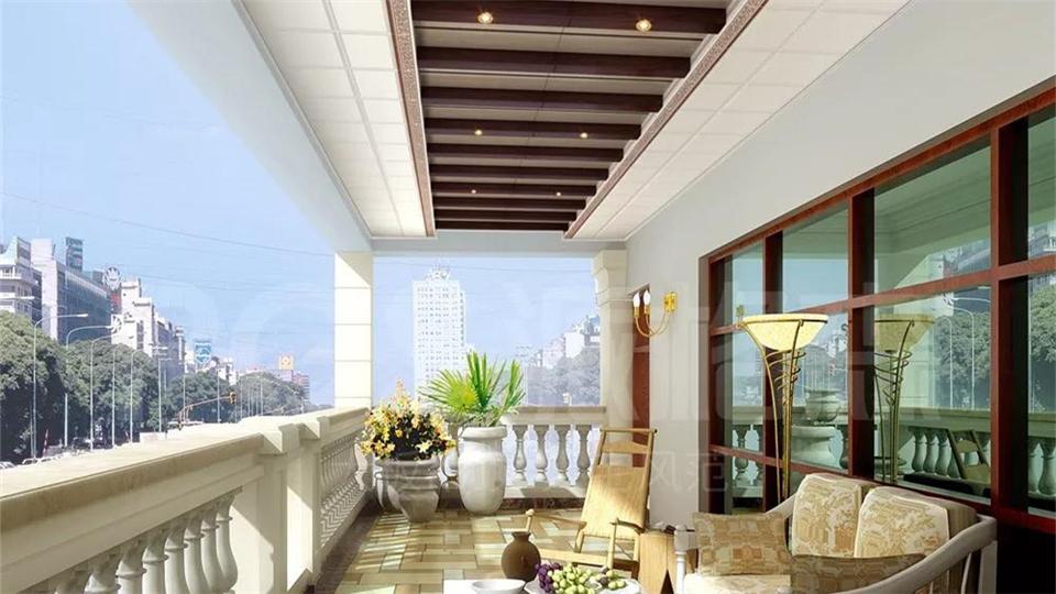 精心布置之后,阳台也可以这么美!