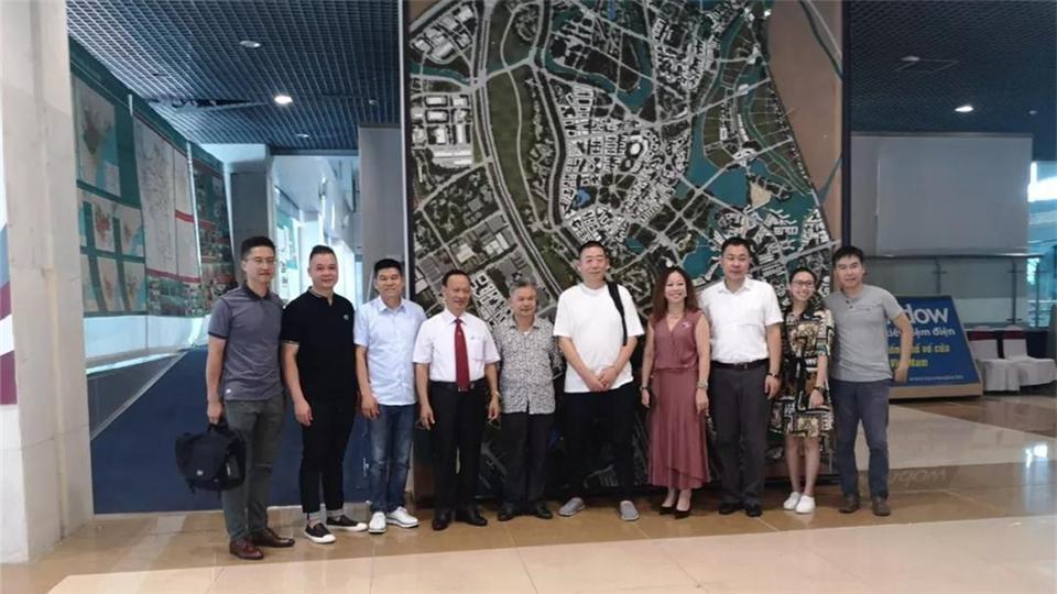 走进东盟——分会赴越南考察建材市场及展会