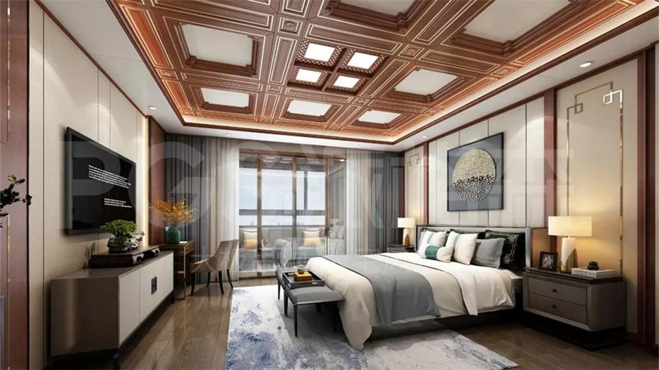 派格森丨打造高档卧室,置身其中尽享慵懒舒适