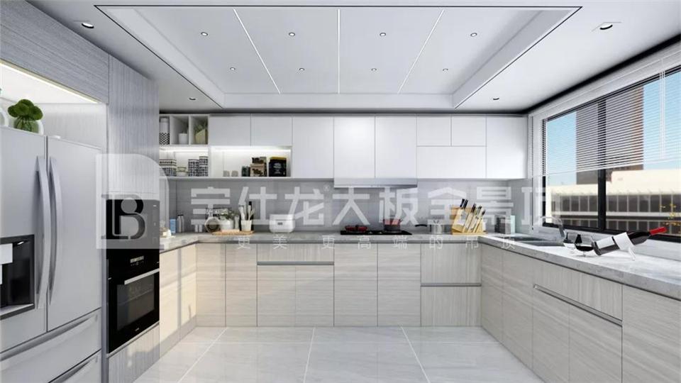 宝仕龙丨厨房不仅要实用,还要兼顾美观!