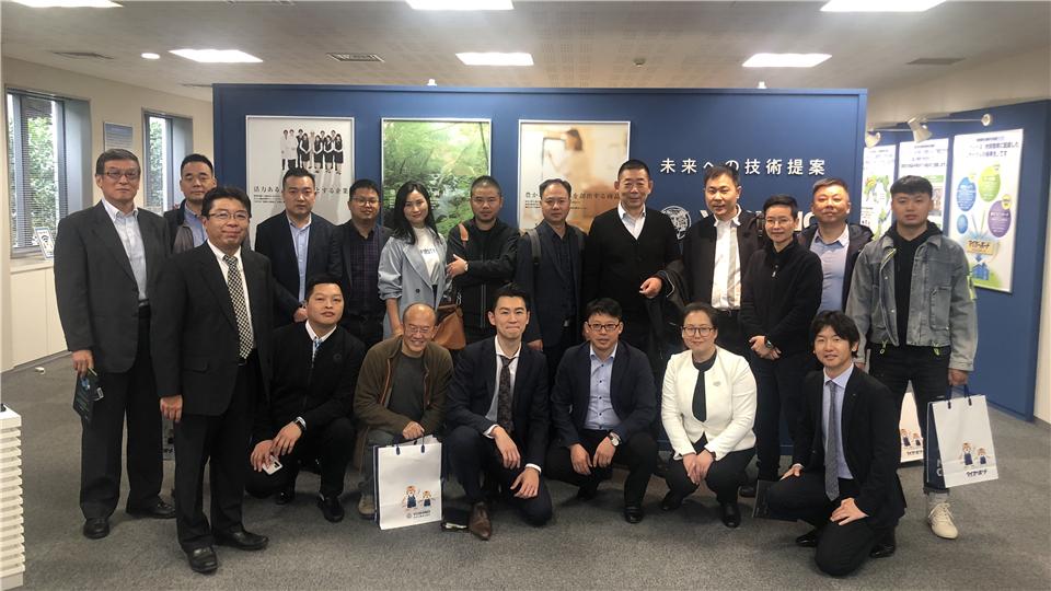 这一站,嘉兴吊顶展组委会代表来到了日本!