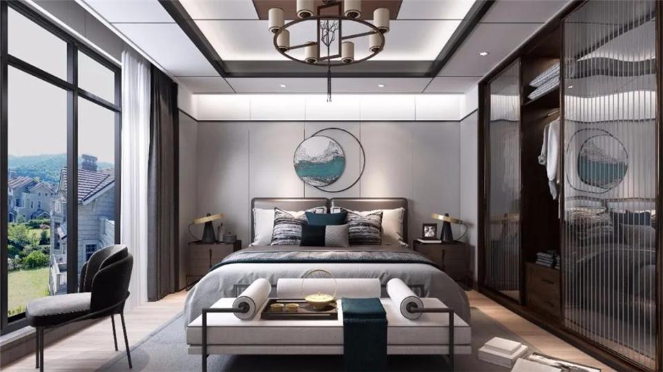 华帝蜂窝板案例赏析:新中式的美,藏在家的每一处空间里
