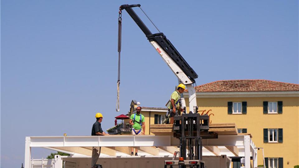 赞柏 | PVC地板,如何助力建筑奇迹
