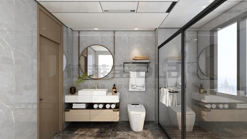洗澡难题终结者:德莱宝涡轮增压浴室暖空调用实力说话!