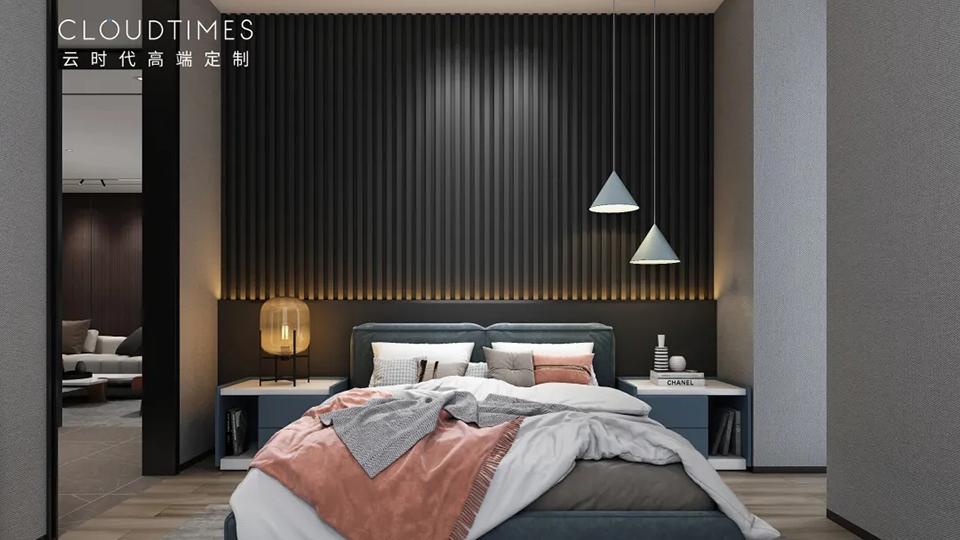 装修干货:一个细节决定卧室的高级感