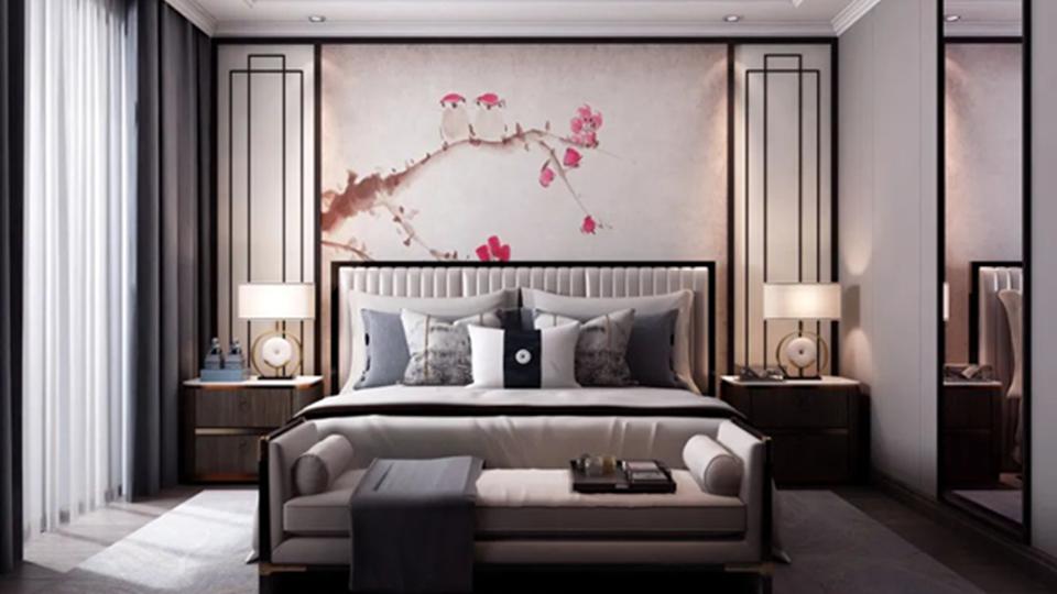 清雅新中式家装,收获一夜好眠