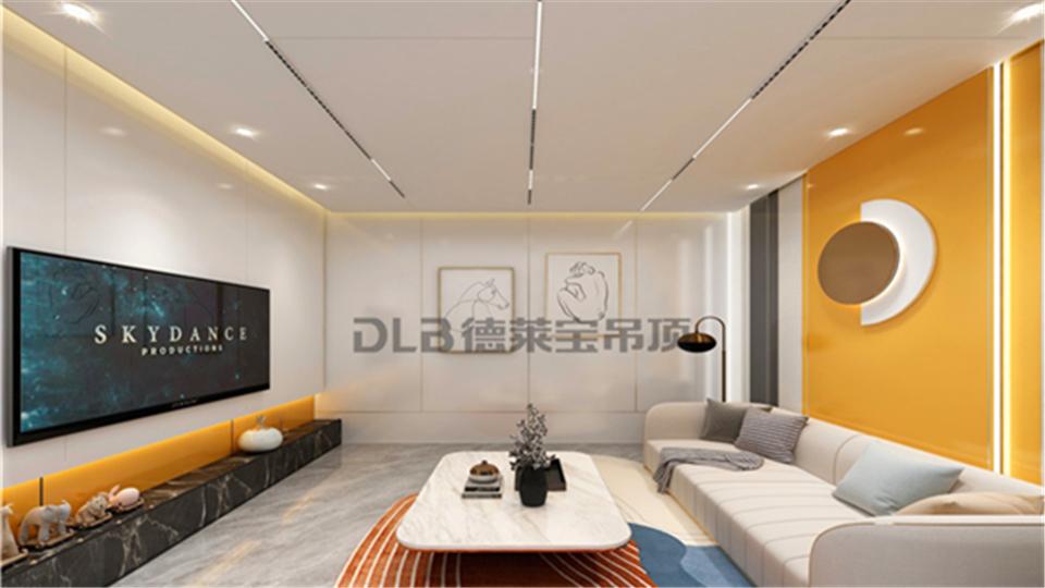 2021让德莱宝吊顶为你描绘,牛气轰轰的家居设计新模样!