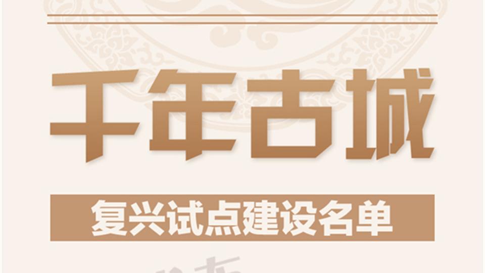 盐官、崇福上榜千年古城复兴名单!除了古镇,嘉兴这个盛会更惊喜!