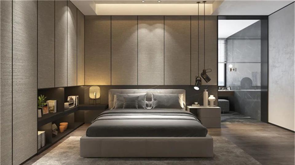 云时代丨卧室设计如此美好,待多久都不想往外跑!