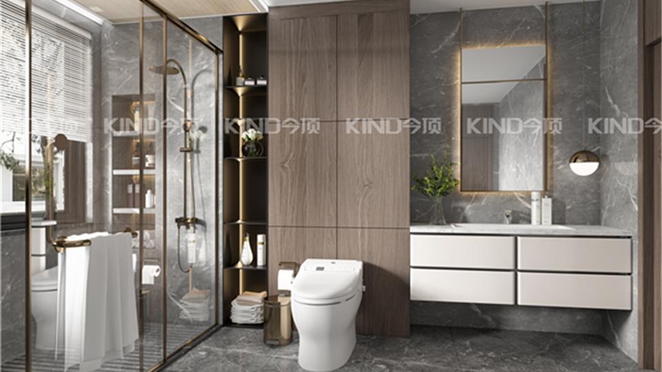 品牌丨卫浴间的正确打开方式,还得学今顶这样装!