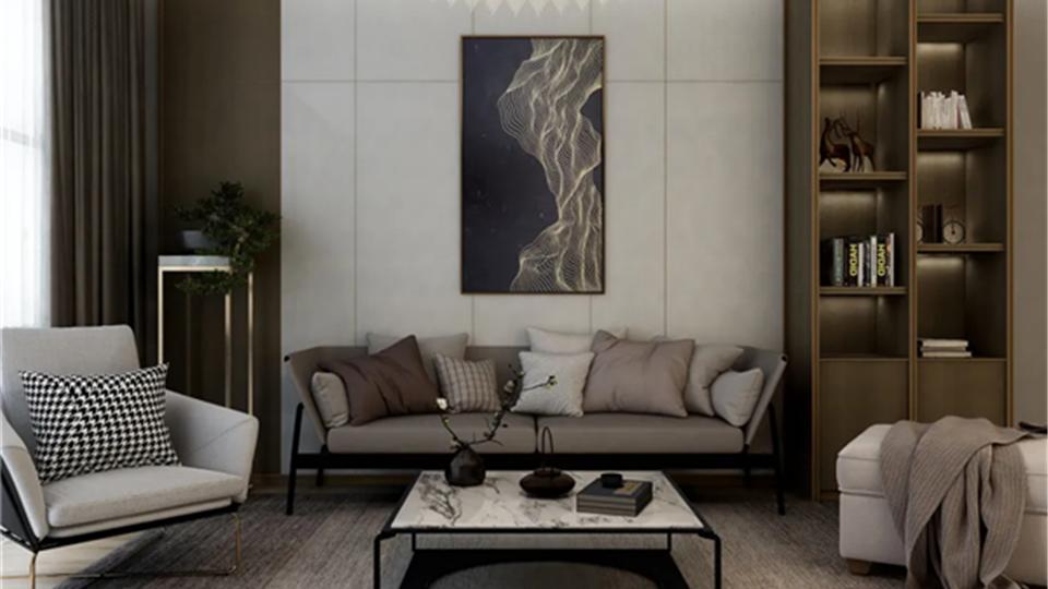 友邦筑家功能背景墙,赋予生活新的美学艺术