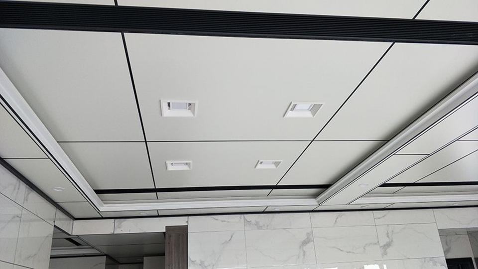不懂就问,潮湿的地下室能不能装铝蜂窝大板吊顶?