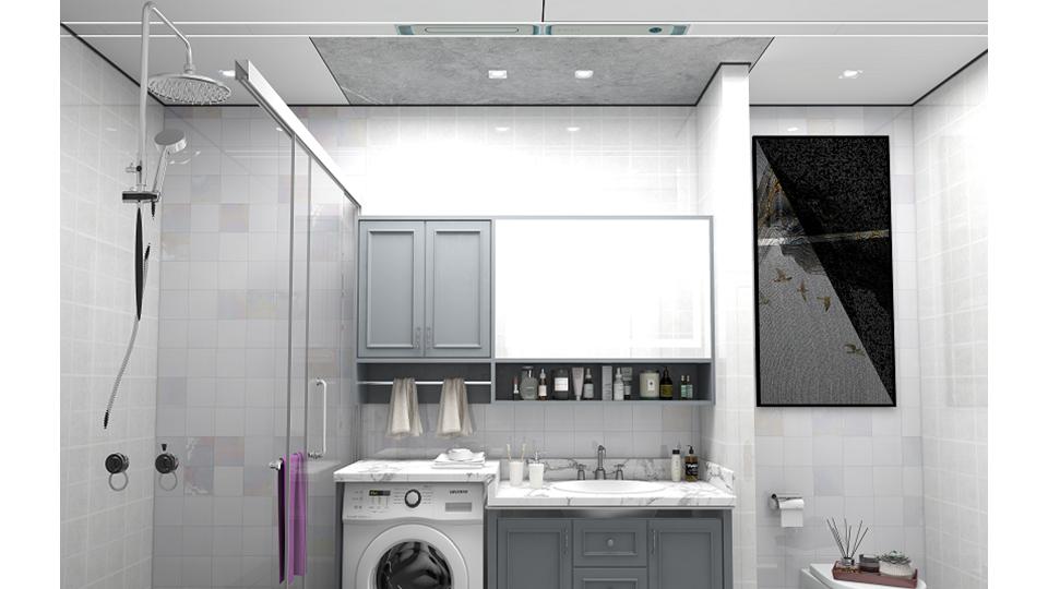 品牌丨气温大跳水,你家缺了一台博伸HONI酷浴室冷暖空调!
